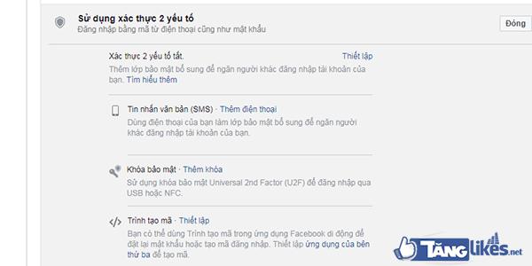 huong dan bao mat facebook