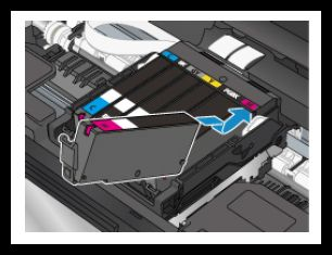 Canon PIXMA TS9050 Replacing Ink Tanks