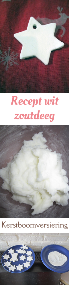 recept wit zoutdeeg Pinterest