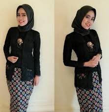 Model Baju Muslim Kombinasi Kebaya Untuk Remaja Modern Terbaru
