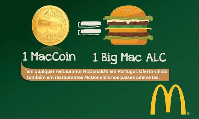 MacCoin - A moeda do McDonald's que vale um BigMac