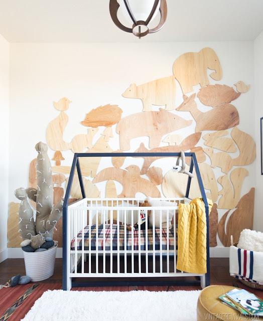 Креативный декор детской комнаты для малыша!