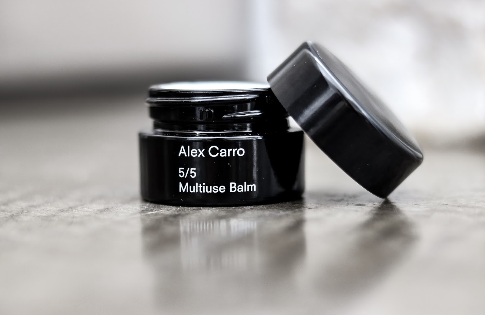 Multiuse Balm Alex Carro Minimal Skincare Review by Almost Chic Blog