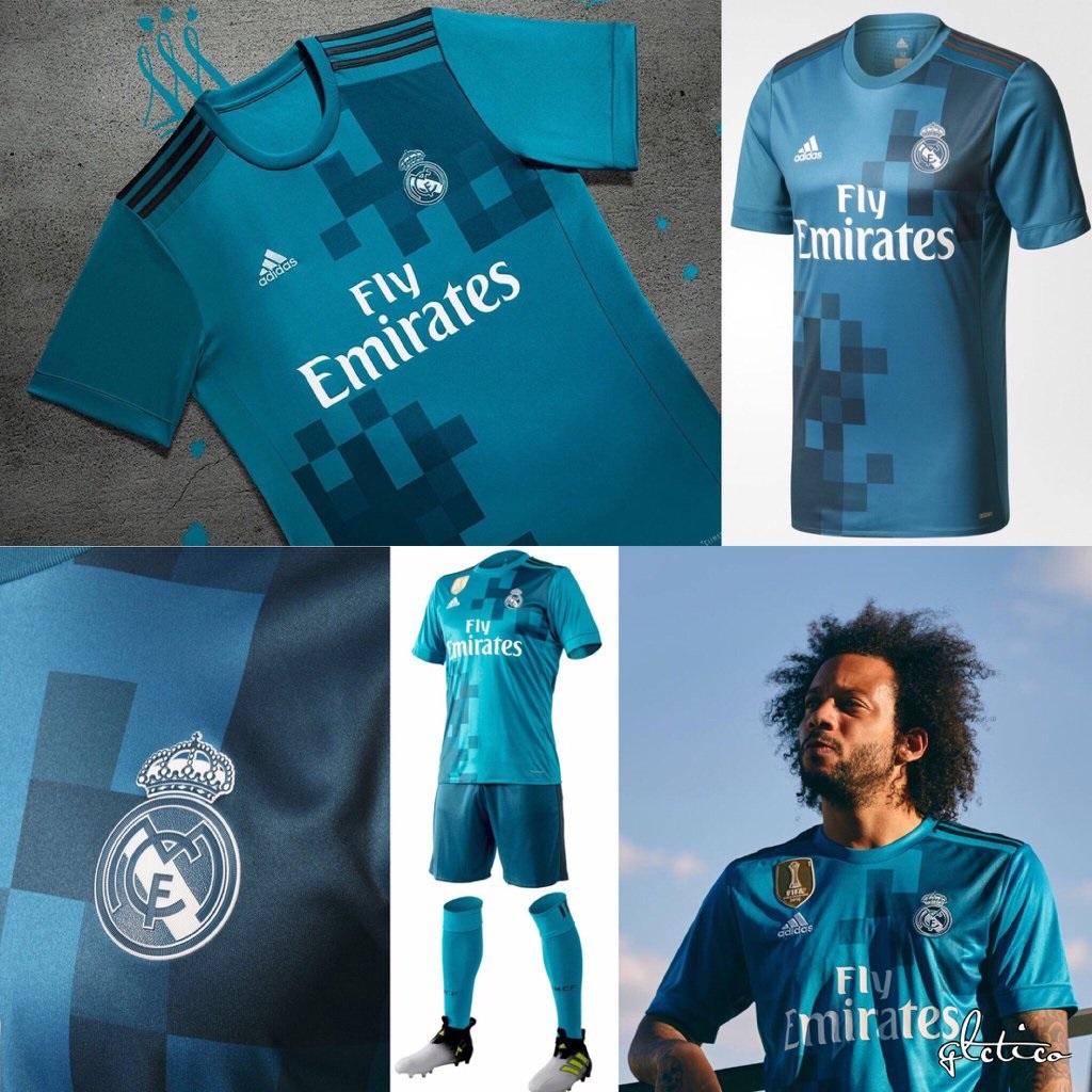 Adidas presenta la tercera equipación del Real Madrid 2017 2018 ... a1cbfad45d7b7