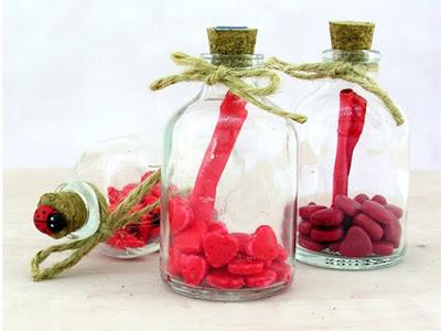 mesaj şişeleri