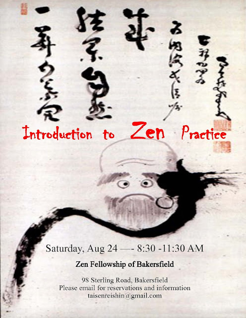Introduction to Zen Practice - 24 August 2013