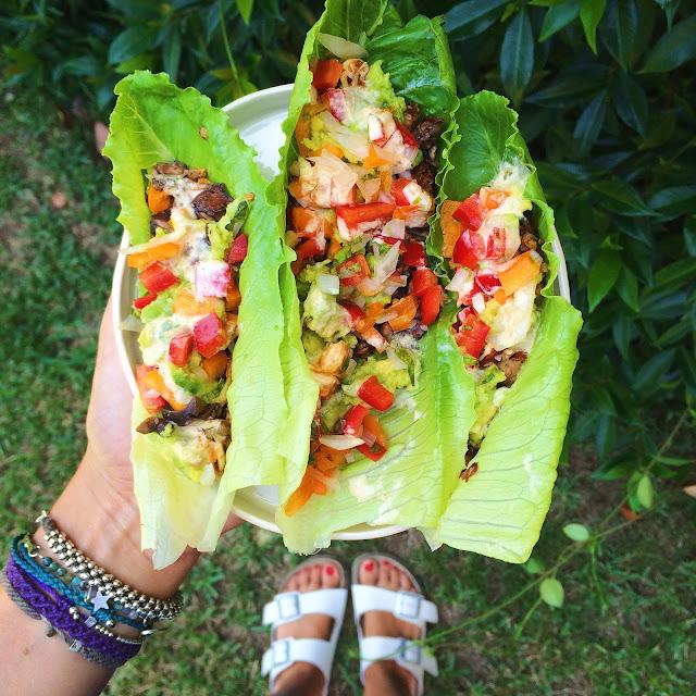 Anticancer Raw Vegan Healing Tacos
