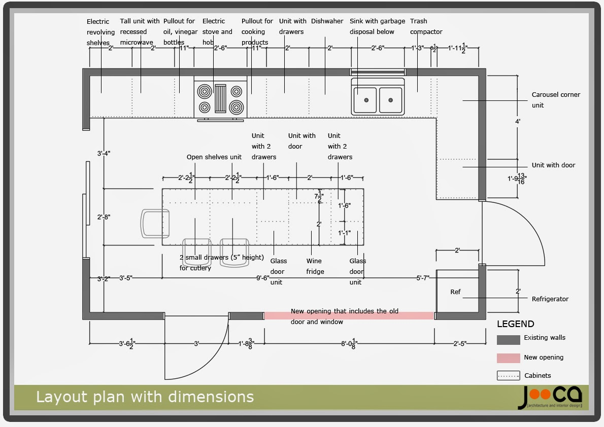 kitchen door dimensions cristaleriaherreracom small layout design