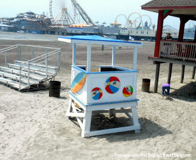Lifeguard Chair in Wildwood New Jersey