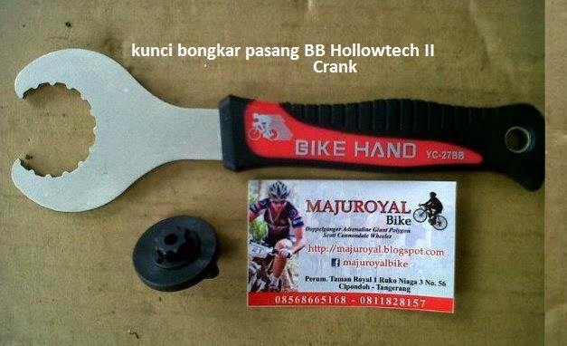 kunci bb crank hollowtech II