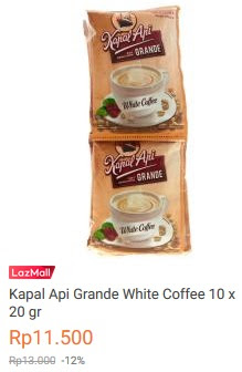 https://www.lazada.co.id/products/kapal-api-grande-white-coffee-10-x-20-gr-i152742810-s172324554.html?spm=a2o4j.searchlistcategory.list.21.40847c67YoS7MD&search=1