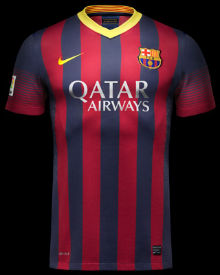 Camiseta FC Barcelona 2013-2014. Nuevas equipaciones del ...  Camiseta FC Bar...