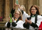 The Church of England consecrates its first woman as a bishop