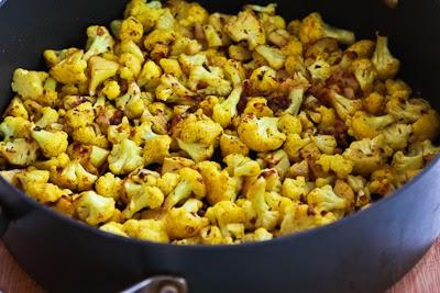 Curried Sauteed Cauliflower found on KalynsKitchen.com