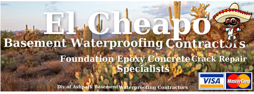 El Cheapo Basement Waterproofing Contractors