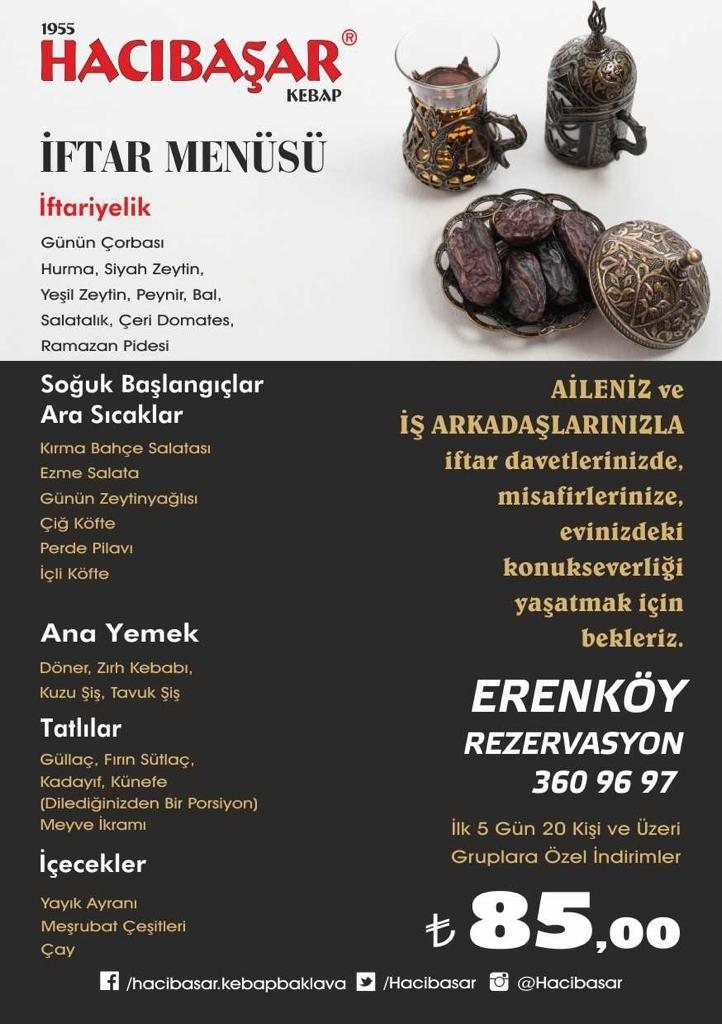 hacıbaşar erenköy menü erenköy iftar mekanları kadıköy iftar yerleri kadıköy erenköy iftar yerleri