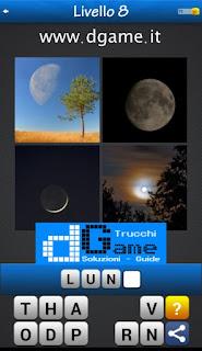 PACCHETTO 4 Soluzioni Trova la Parola - Foto Quiz soluzione livello 8