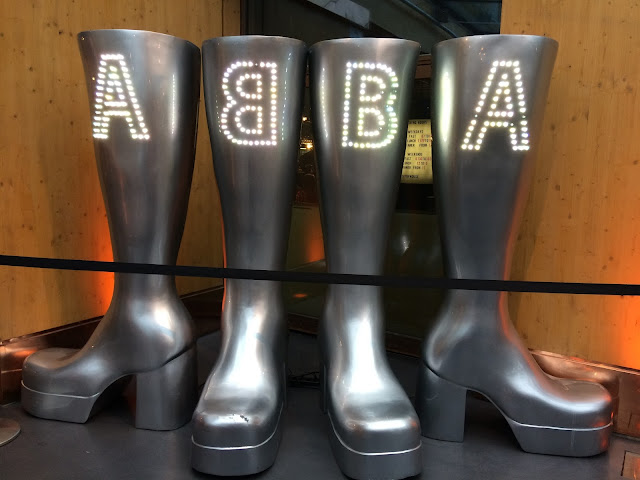 The ABBA Museum - Stockholm Travel - Platform Boots