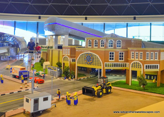 Mall of the Emirates at Legoland Dubai Miniland