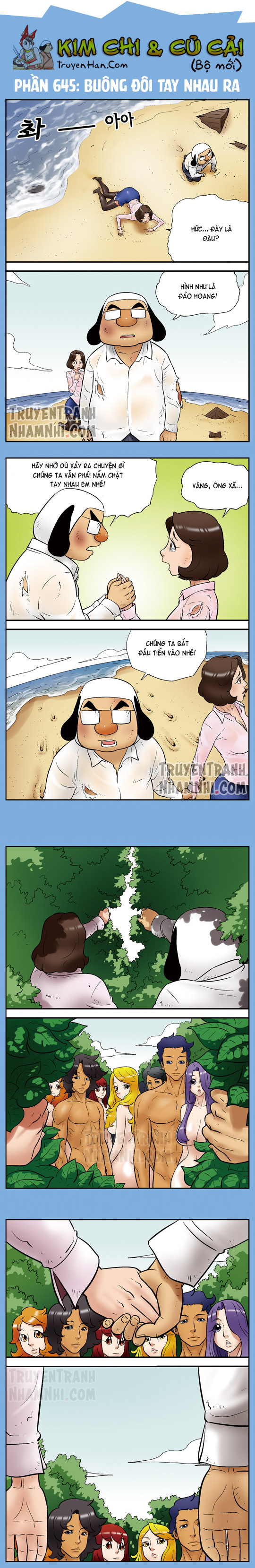 Kim Chi & Củ Cải (bộ mới) phần 645: Buông đôi tay nhau ra