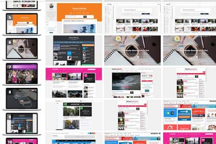 Download 3 Template Premium Blogger Paling Populer, Responsive dan SEO Friendly