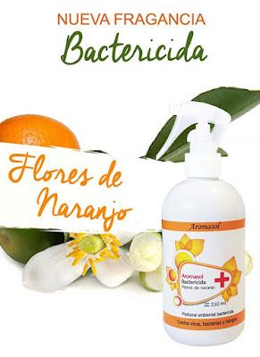 Aromasol, bactericida flores de naranjo