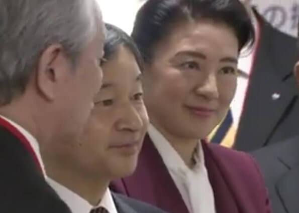 Emperor Naruhito and Empress Masako attended an international symposium on water at National Graduate Institute for Policy Studies