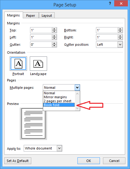How To Create Booklets Using Microsoft Word 2013 Safe Trick