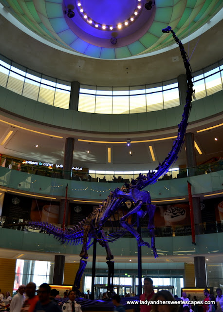 Dubai Dino in The Dubai Mall