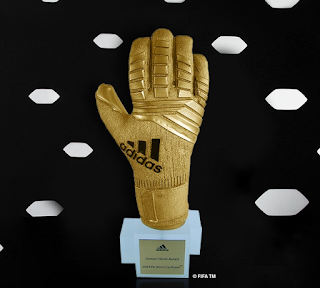 Golden Glove Award winner 2018: Thibaut Courtois (Belgium)