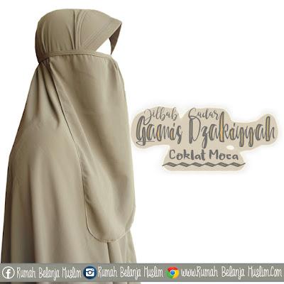 Model Jilbab Cadar Gamis Dzakiyyah