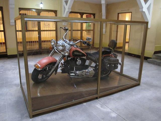 Motocicleta Harley Davidson de Pablo Escobar