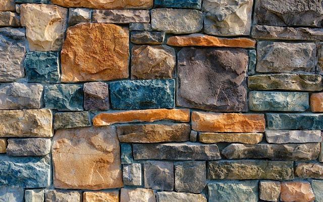 foto oude stenen muur wallpaper