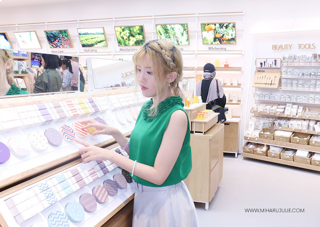grand opening innisfree at central park mall jakarta