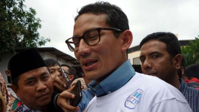 Sandi Ingin Ajak Mahfud MD Masuk ke Tim Pemenangan
