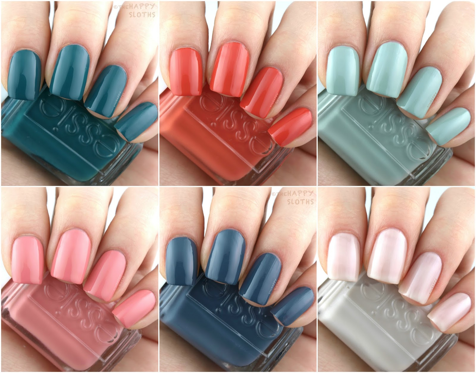 Essie | Spring 2018 Collection: Review and Swatches | The Happy ...
