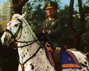 Resultado de imagen para peron en su caballo pinto