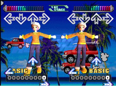 舞蹈革命(Dance Dance Revolution),音樂節奏跳舞類型遊戲!