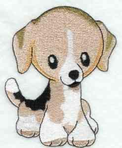Bordado de cachorrinho Graficos e Moldes de bordado