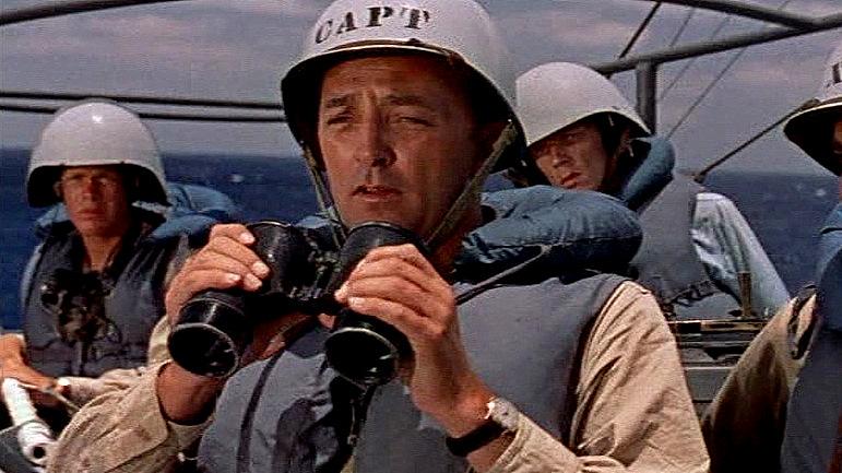 Risultati immagini per the enemy below (1957)