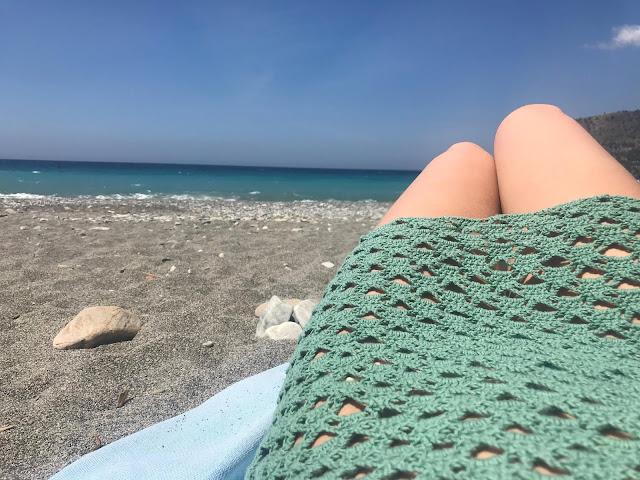Tutorial vestido playero de crochet