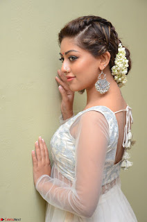 Anu Emmanuel in a Transparent White Choli Cream Ghagra Stunning Pics 056.JPG