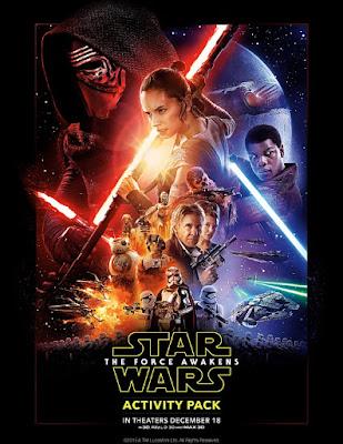 Libro de Actividades de Star Wars el Despertar de la Fuerza para Imprimir Gratis.