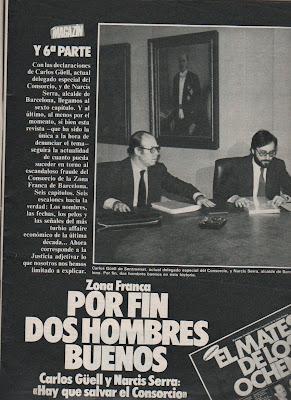 Resultado de imagen de NARCIS SERRA EN TELEFÓNICA
