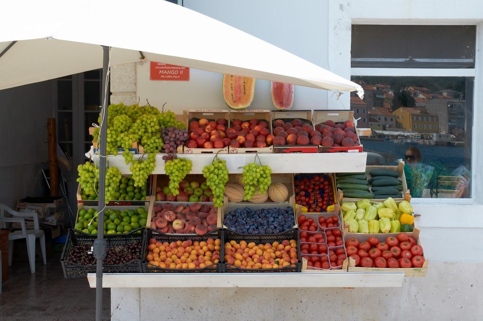 owoce i stragany Chrowacja