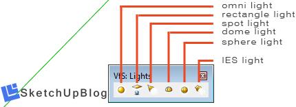 Mengetahui sumber cahaya pada vray sketchup - SketchupBlog net