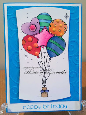 Diecut Divas, The Stamping Boutique Balloons 2