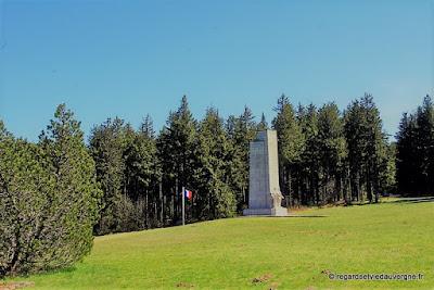 Mémorial national de la Résistance du Mont-Mouchet, Auvergne.