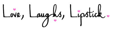 Lovelaughslipstick blog - a health fashion beauty and lifestyle blogger