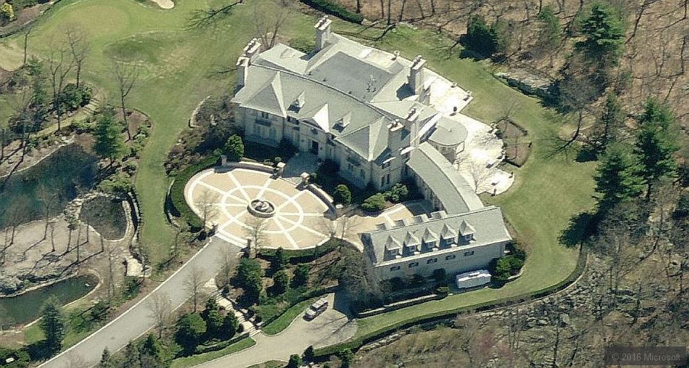 Billionaires the inside source reebok billionaire paul for Billionaire homes for sale